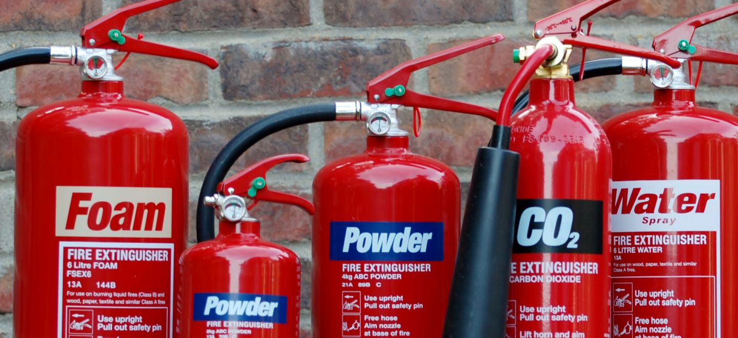 fire-extinguishers-various